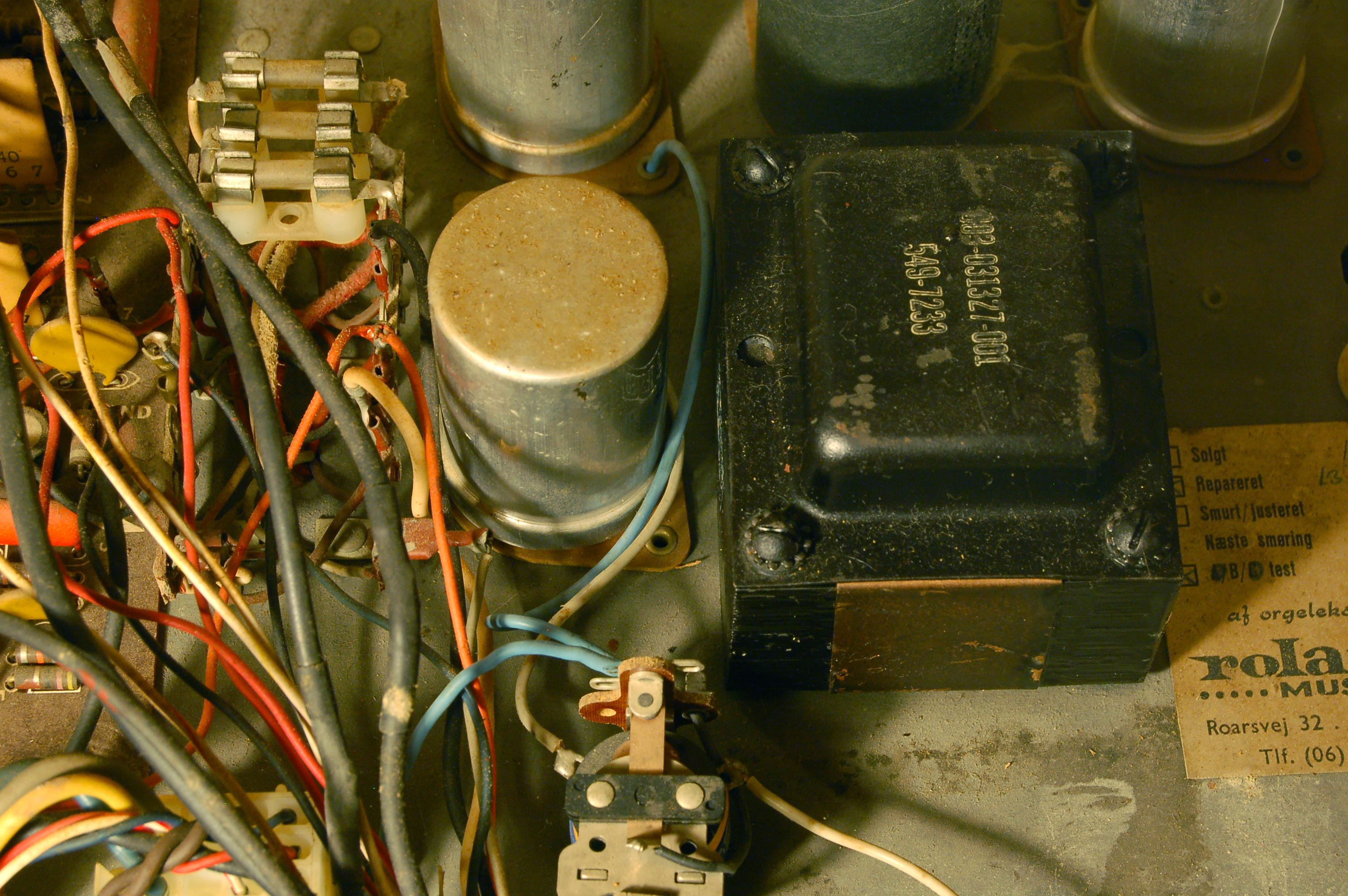 Excessive Hum On A T500 Hammond Transformer Wiring Diagram The Amp P